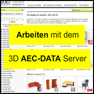 Video - Wie man 3D-Modelle aus der AEC-DATA-Server herunterladen